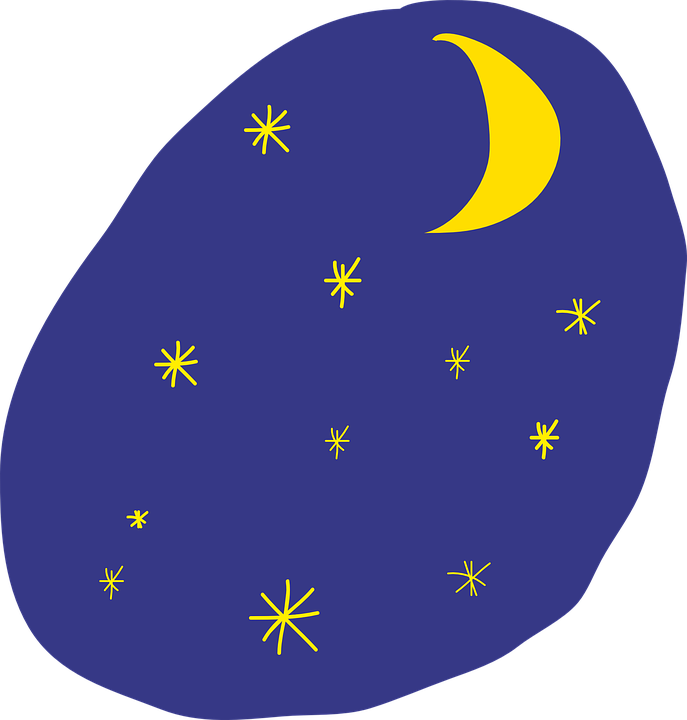 image vectorielle gratuite ciel toiles lune dessin image gratuite sur pixabay 572536. Black Bedroom Furniture Sets. Home Design Ideas