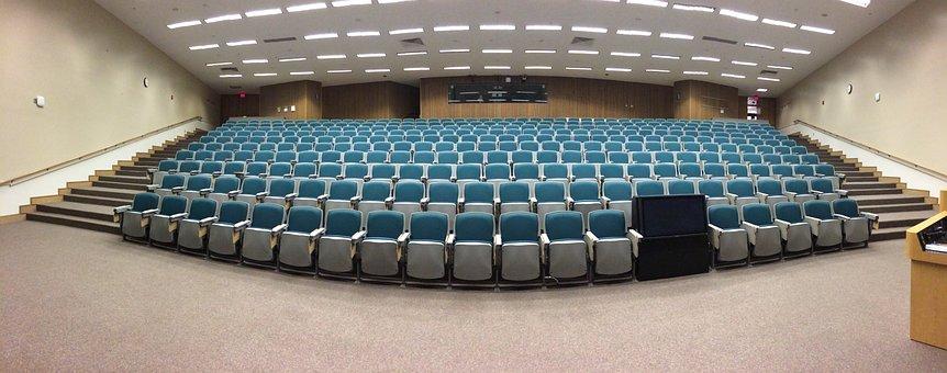 Auditorium, Classroom, Lecture