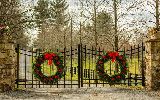 Christmas Wreath Holiday Decorations Everg