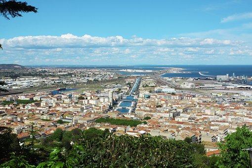 Sète, Sud De La France, France, Paysage