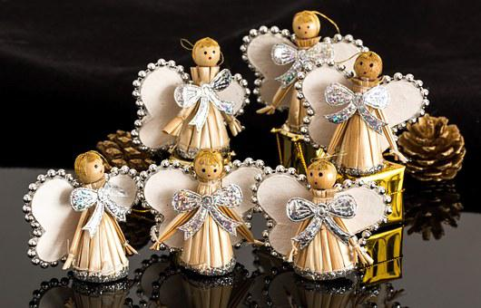 Angel, Christmas Decoration, Ornament
