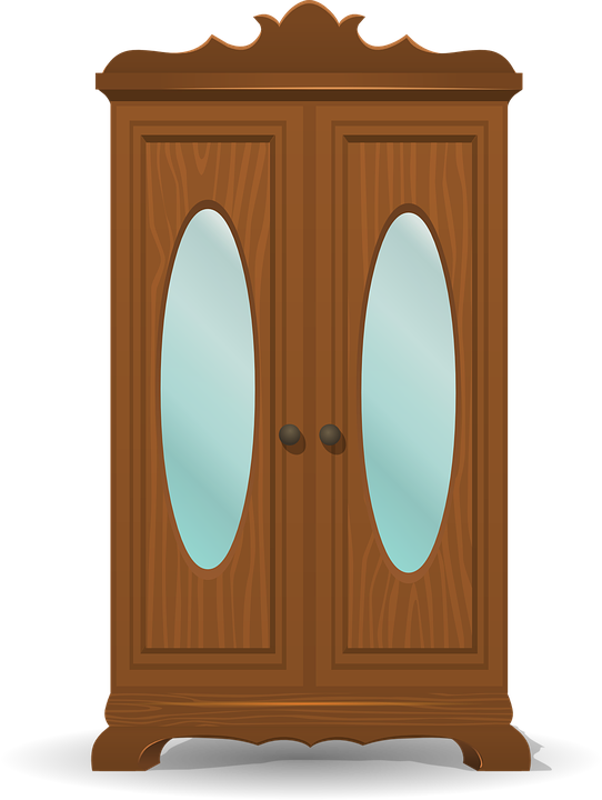 Cupboard Wooden Storage · Free vector graphic on Pixabay