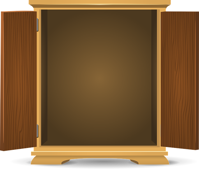 Free Vector Graphic: Cupboard, Wooden, Storage, Cabinet