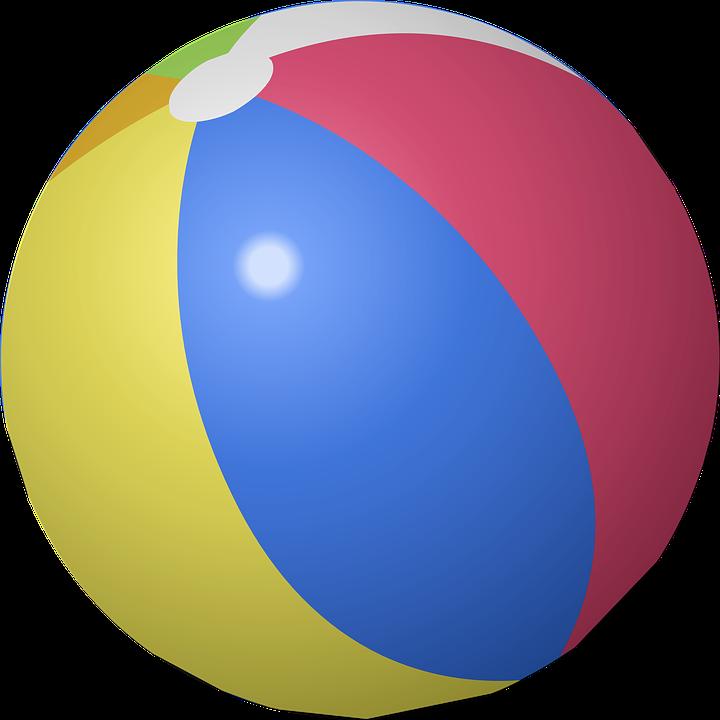 beach ball inflatable free vector graphic on pixabay rh pixabay com