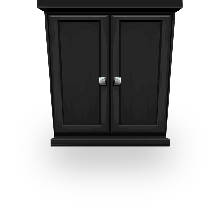 Free Vector Graphic: Cupboard, Closed, Cabinet, Storage