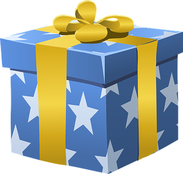 Gift, Present, Box, Wrapped, Bow