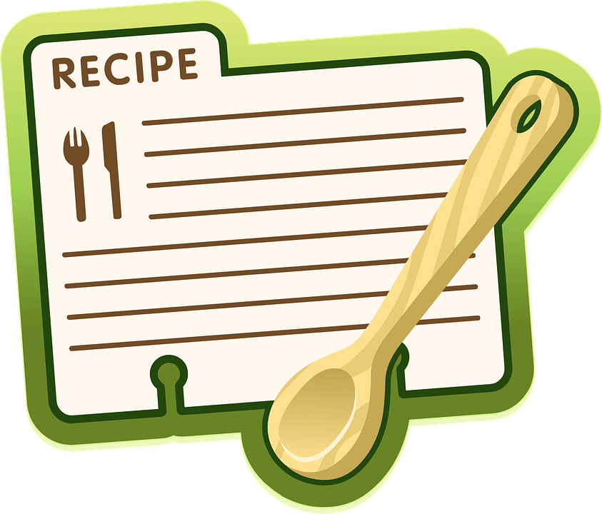 Recipe Label Icon , Free vector graphic on Pixabay