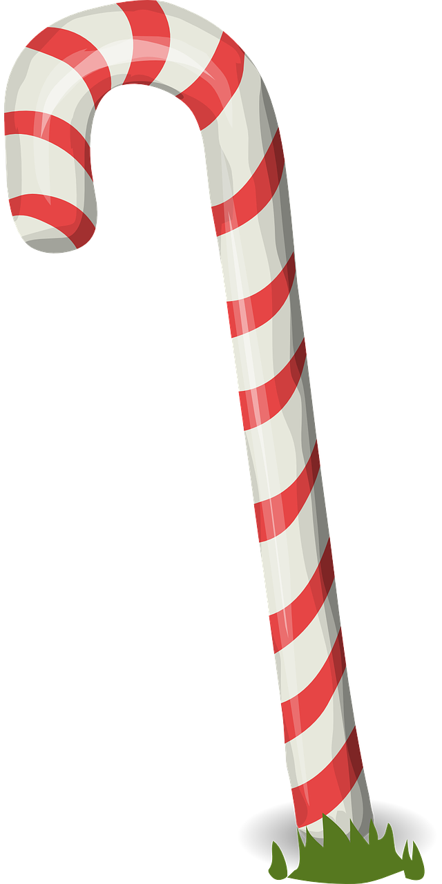 Candy Cane - Free vector graphic on Pixabay