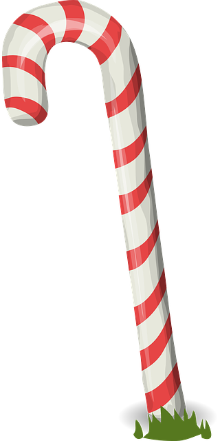 Candy Cane 183 Free Vector Graphic On Pixabay