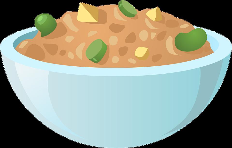 Makanan Mangkuk Biru Piring Gambar Vektor Gratis Di Pixabay