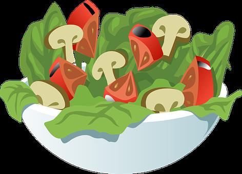 サラダ, 野菜, 食事, 健康, 食品, 菜食主義者, おいしい, トマト