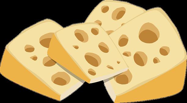 Cheese, Dairy, Food, Swiss Cheese