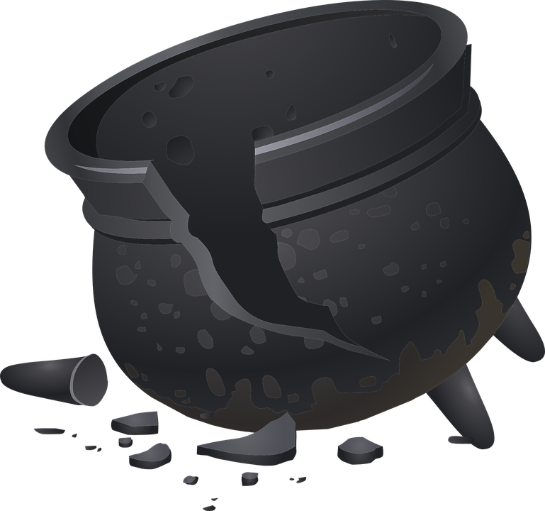 pot cracked clay 183 free vector graphic on pixabay