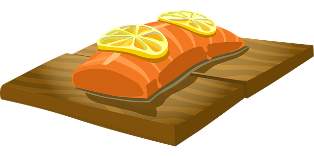 pink salmon cooked