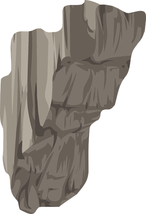Free Vector Graphic Rock Jagged Grey Gray Geology