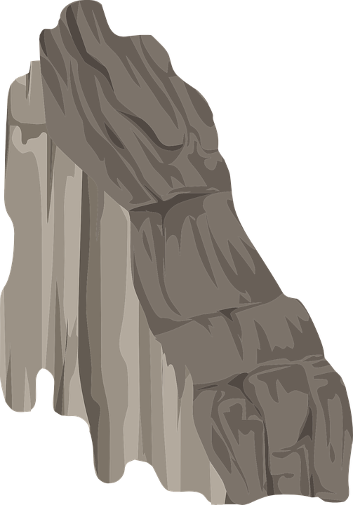 Free Vector Graphic Rock Terrain Jagged Nature Free