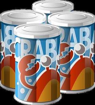 Cans, Aluminum, Metal, Container