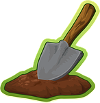 shovel, trowel, digging