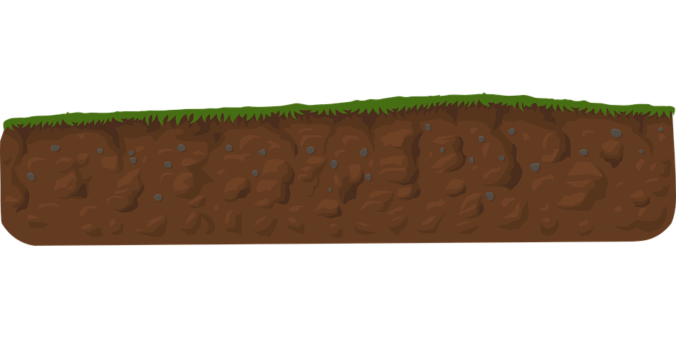 how to draw layers of soil
