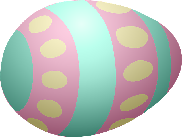 Easter Egg Decorated · Free Vector Graphic On Pixabay