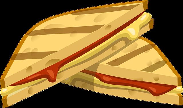 Image vectorielle gratuite sandwich grill collation image gratuite sur - Grille pain transparent ...