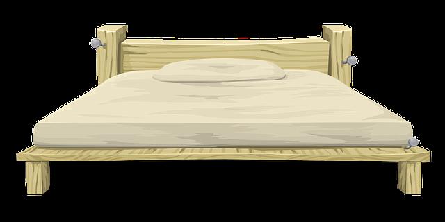image vectorielle gratuite lit meubles chambre 192