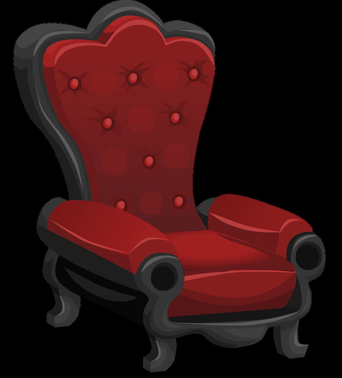картинка красное кресло такая