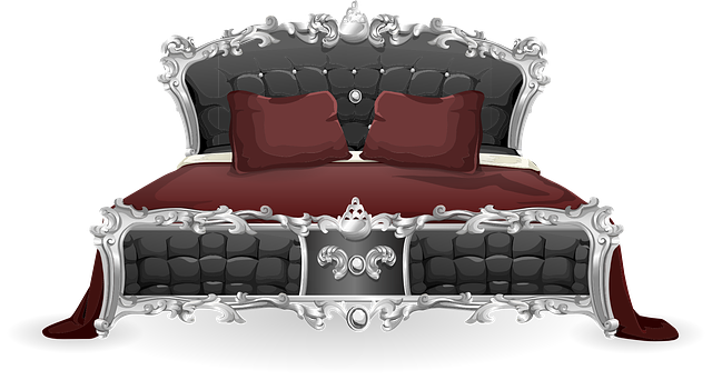 Free Vector Graphic Bed Furniture Bedroom Pillows