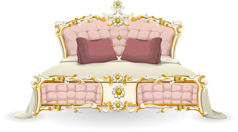 Free Vector Graphic Bed Luxury Bedroom Relaxation