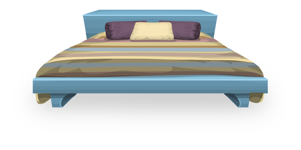 Free vector graphic bed furniture bedroom pillows free image on pixabay 575796 for Meuble transparent