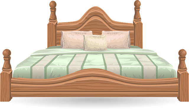 Bed Furniture Bedroom Four · Free vector graphic on Pixabay
