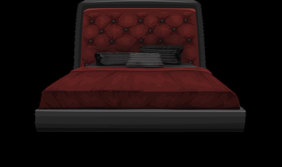 bed furniture bedroom sleep sleeping pillows. Free vector graphic  Bed  Furniture  Bedroom  Sleep   Free Image