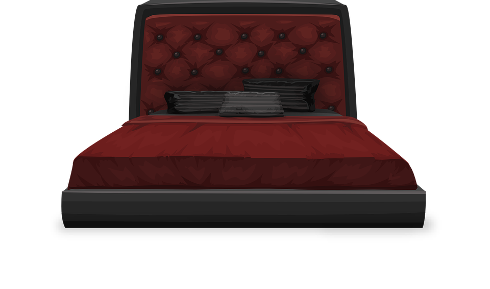 Bed Furniture Bedroom Free Vector Graphic On Pixabay - Sleep Furniture