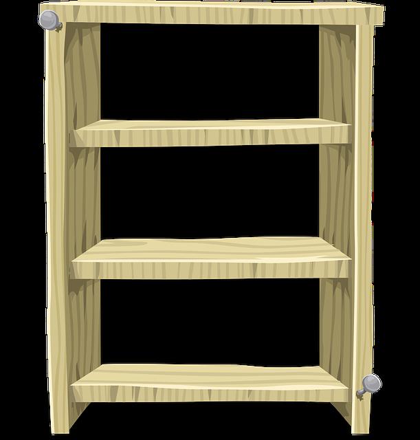 무료 벡터 그래픽: 책장, 선반, 나무, 가구, 보류, 저장, 빈 - Pixabay의 무료 이미지 - 575818