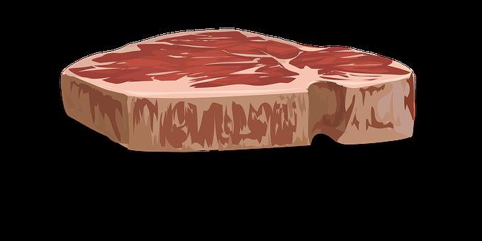 ステーキ, 肉, 食品, 牛肉, テンダーロイン, チョップ, 生, タンパク質
