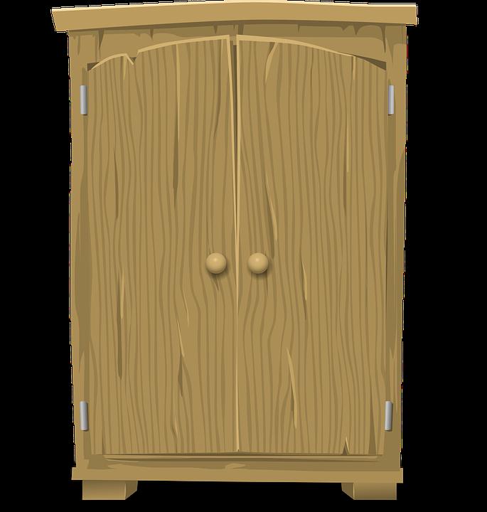 무료 벡터 그래픽 Armoire 옷장 가구 캐비닛 저장 나무 찬 Pixabay의 무료