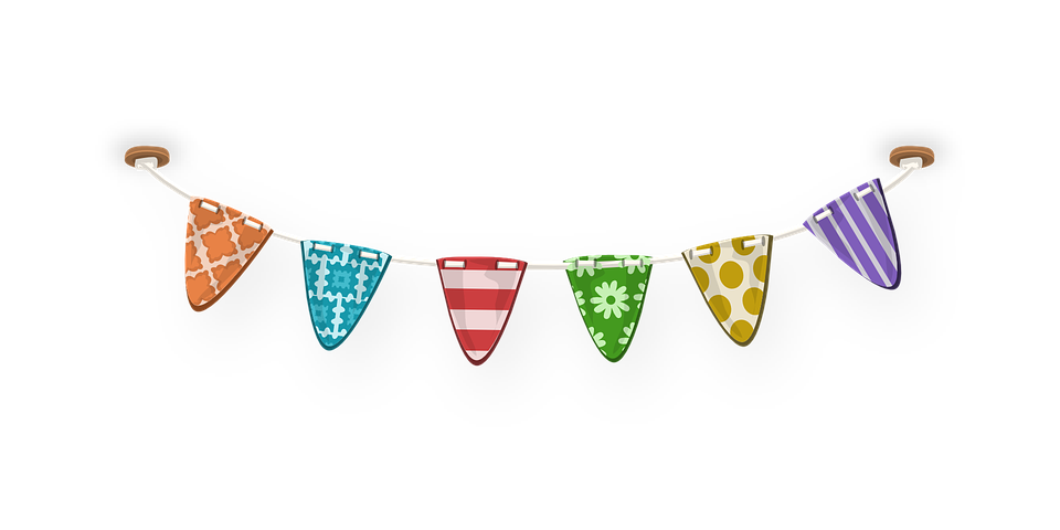 bunting flags celebration  u00b7 free vector graphic on pixabay fireworks clipart gif fireworks clipart animated