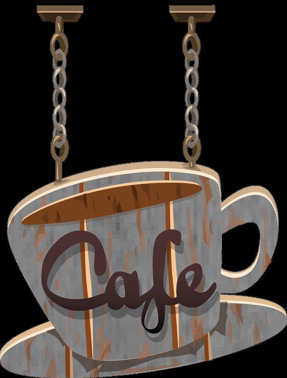Кафе надпись картинки