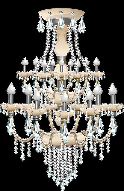 Free vector graphic: Chandelier, Light, Lighting, Lamp ...