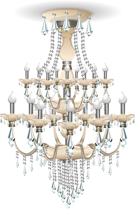 Chandelier Light Lighting · Free vector graphic on Pixabay