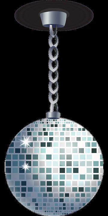 Kostenlose Vektorgrafik Disco Kugel Spiegel Ball
