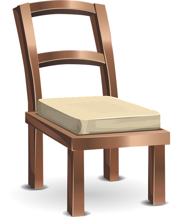Superieur Wooden Chairs Furniture Brown Frames White