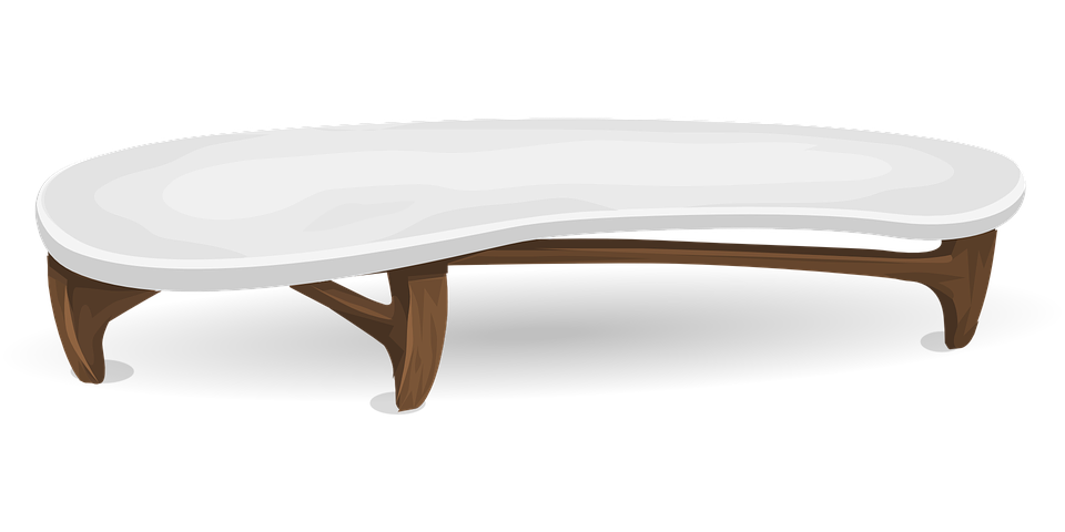 Coffee Table Furniture Free Vector Graphic On Pixabay