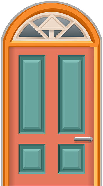 free vector graphic door entrance front door entry
