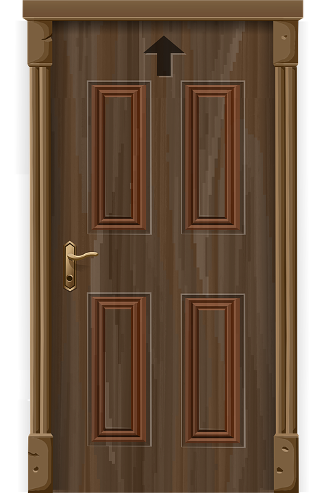 Door Entrance Front 183 Free Vector Graphic On Pixabay