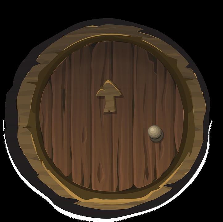 Door Round Circle 183 Free Vector Graphic On Pixabay