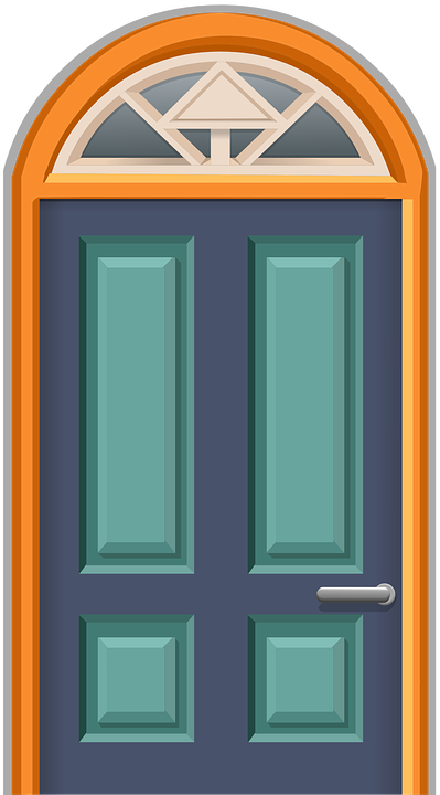Door, Round Arch, Front Door, Doorway, Entry, Entrance