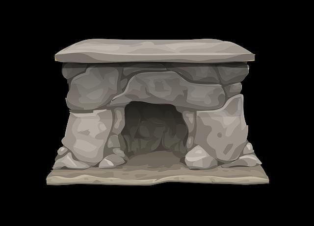 Free vector graphic: Fireplace, Stone, Mantel, Heat - Free ...