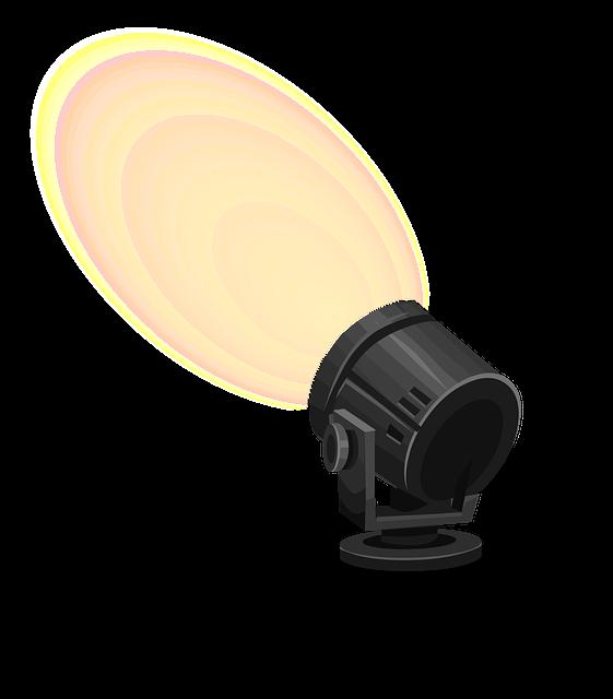 Spotlight Light Illuminate 183 Free Vector Graphic On Pixabay