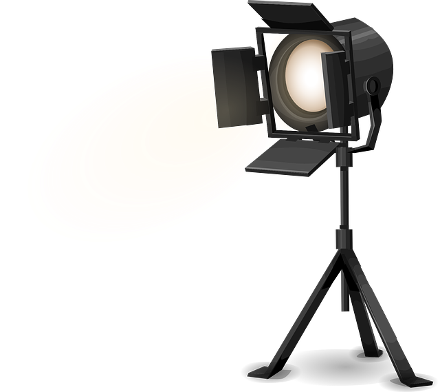 Studio Lighting Used: Stage Light Spotlight · Free Vector Graphic On Pixabay